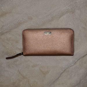 😍 Kate Spade Rose Gold Wallet
